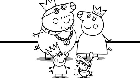 peppa pig coloring pages youtube peppa pig and her family coloring book coloring pages