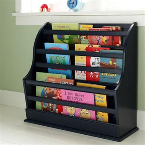 wall bookshelf what one step ahead sling bookshelf