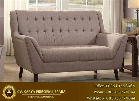 Sofa 2 Dudukan 1 sofa set new retro jepara