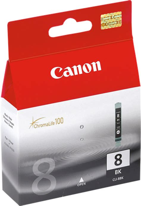 Canon Cli 8bk Ink Original 1 canon cli 8bk ink cartridge for less