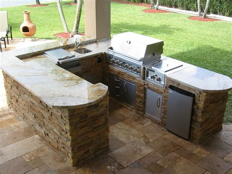 outdoor kitchen prefab kits kitchen decor design ideas