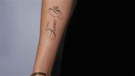 does emma watson have a tattoo watson debuts new with a glaring error