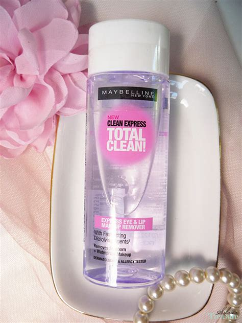 Maybelline Mascara Bening maybelline clean express eye lip make up remover
