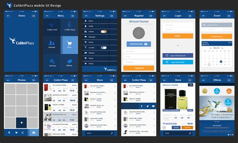 pattern ui mobile image gallery mobile ui design