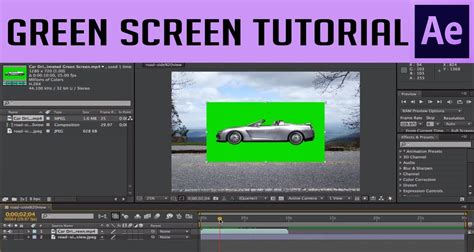 tutorial after effect green screen how to use a green screen in after effects cs6 youtube