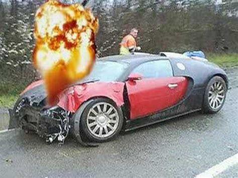 bugatti crash for bugatti veyron burnout crash fastest sports car top speed