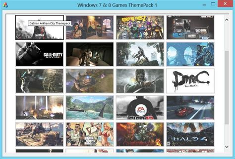 themes windows games download windows themes games pack from files32 desktop