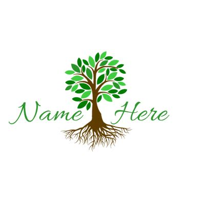 free nature logo design nature logos thefreelogomakers com