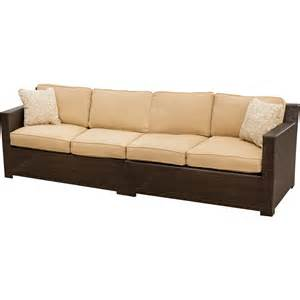 outdoor sofa metropolitan 2 outdoor wicker sofa set hanover