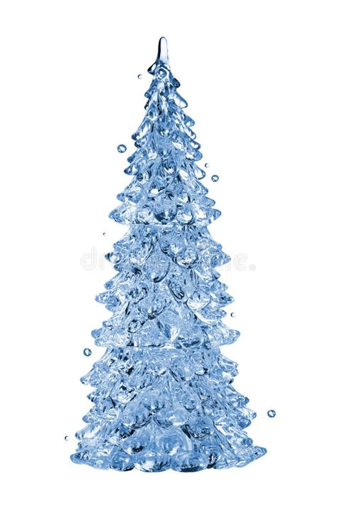 how long christmas tree without water tree stock photo image of transparent color 22405574
