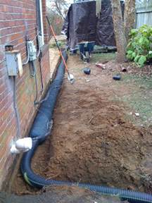 what is a french drain system nusite waterproofing contractors