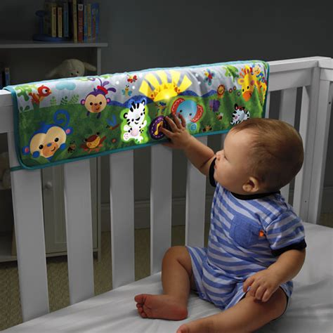 Crib Soother by Great Price On Fisher Price Rainforest Crib Rail Soother