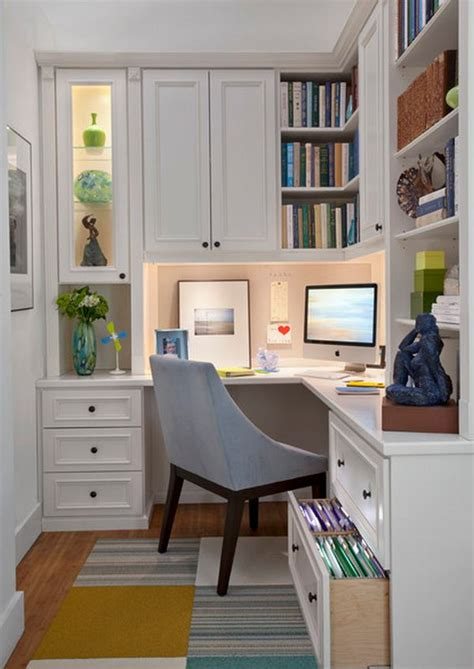 Design Tips For Small Home Offices | 20 home office design ideas for small spaces
