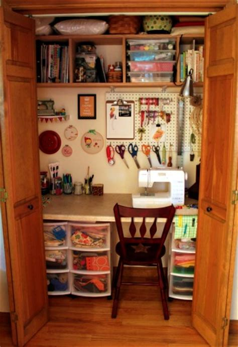 Craft Room Closet Storage Ideas by Craft Room Closet On Closet Craft Rooms Craft