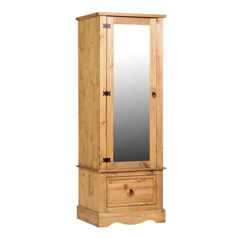 Mirrored Wardrobe Armoire by Bramley Armoire