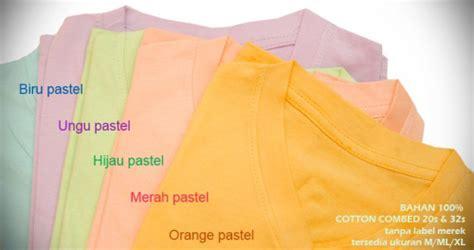 wongpolosan clothes grosir dan satuan kaos polos kaos polos kaos katun supplier kaos polos