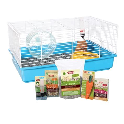 L Kit by Living World Has A Starter Kit For A Variety Of Small Animals