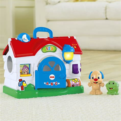 Fisher Price Laugh And Learn Home by Laugh Learn 174 Puppy S Activity Home