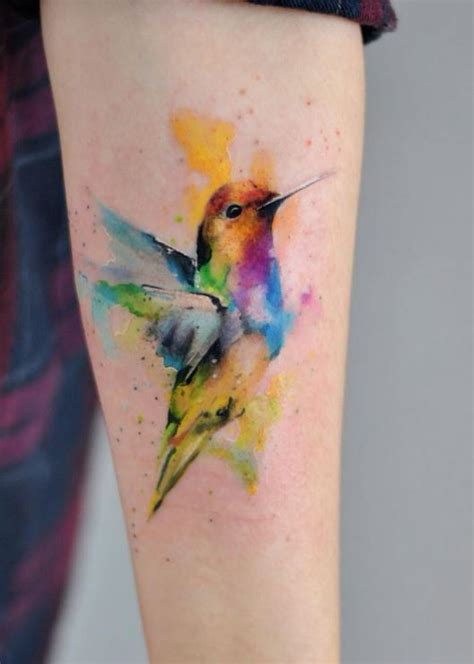 watercolor bird tattoo watercolor bird inkstylemag