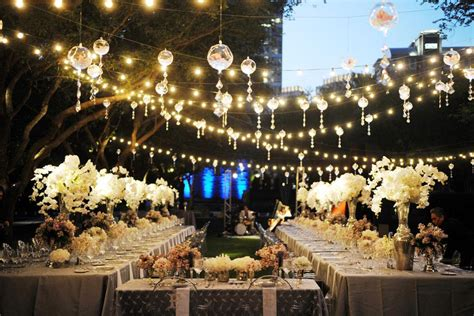 Excellent Patio String Lights Ideas Lighting How To Hang Lighting For Outdoor Wedding