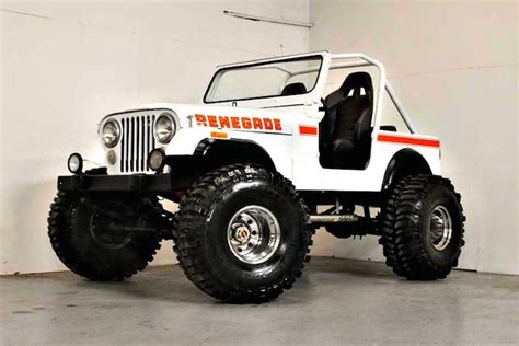 Jeep Cj7 Renegade For Sale This 1980 Jeep Cj7 Renegade Restomod Is The Business