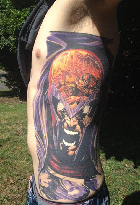 sick side tattoo color me impressed sick magneto side