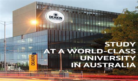 Deakin Mba International Ranking by Earn A World Class Degree From One Of Australia S