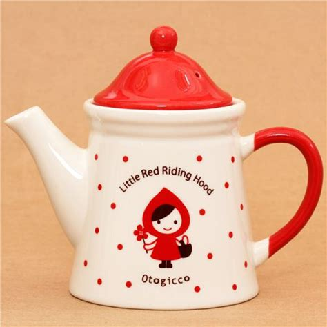 cool cups in the hood little red riding hood tea pot otogicco decole cups mugs
