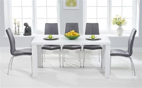 white gloss dining room furniture 20 photos white gloss dining room furniture dining room ideas