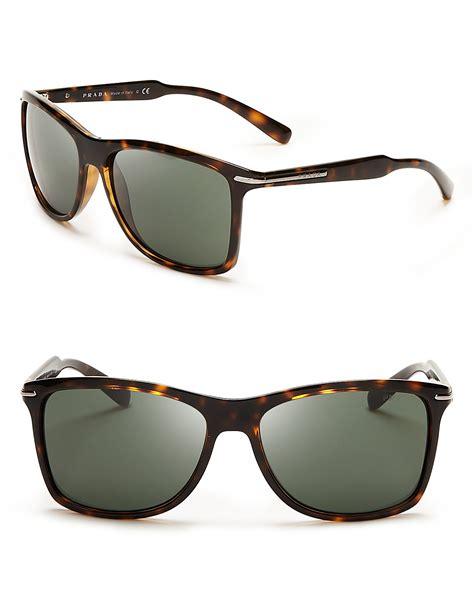 prada arrowhead wayfarer sunglasses bloomingdale s