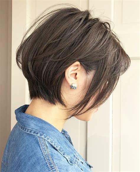 ten trendy short bob haircuts  female  short hair