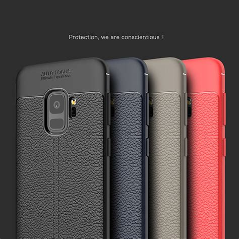 Cafele Galaxy S9 S9 Plus Matte Ultra Thin 0 6mm Tpu Soft for samsung galaxy s9 luxury leather carbon fiber
