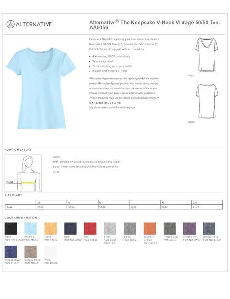 alternative apparel aa5056 the keepsake v neck vintage alternative 174 aa5056 the keepsake v neck vintage 50 50