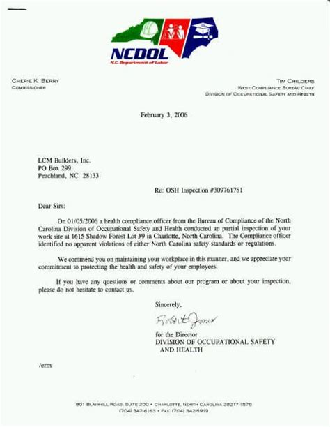 Safety Commitment Letter Exles Safety Is Taken Seriously Here Lcm Builders Inc