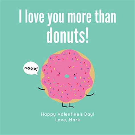 valentines day sad sad donut valentines day cards