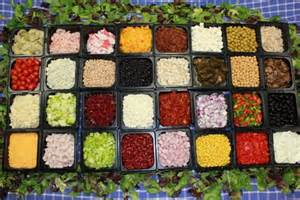 Toppings For Salad Bar by Olive Branch