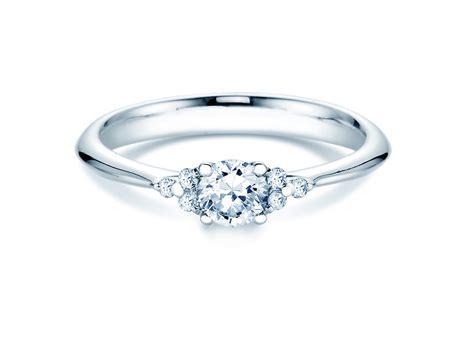 Verlobungsring Mit Ehering by Verlobungsring In Silber 925 Mit Diamanten 0 43