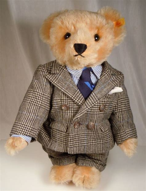 pictures of teddy bears in tuxedos ralph lauren polo steiff teddy bear in suit bears polos