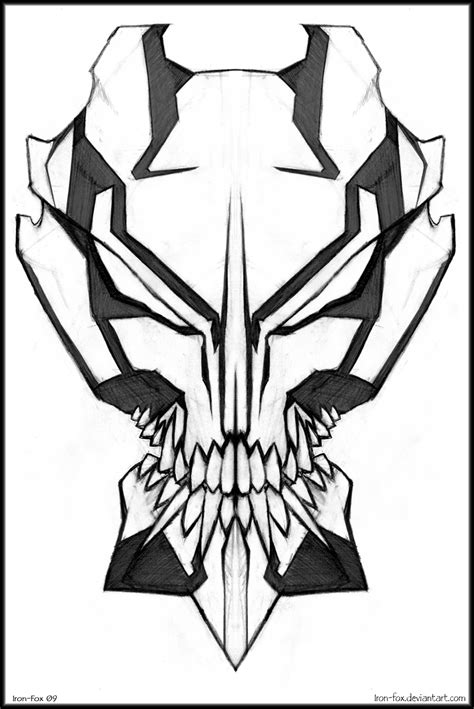 vizard mask design by iron fox on deviantart