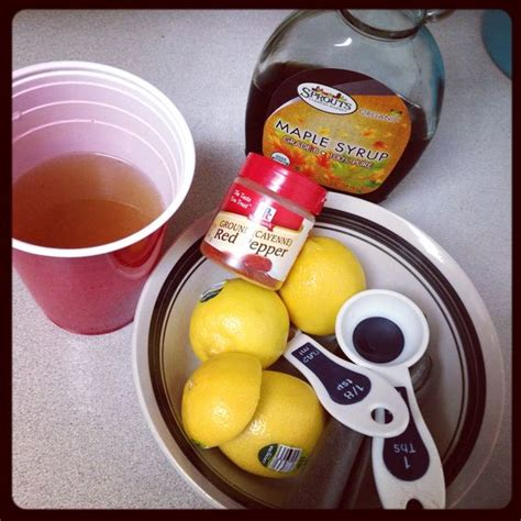 Lemonade Maple Syrup Cayenne Pepper Detox by Lemonade Detox Cayenne Peppers And Honey On