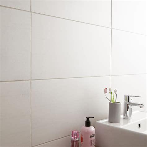 Salle De Bain Carrelage Blanc carrelage sol et mur blanc eiffel l 30 x l 60 4 cm