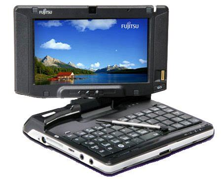 Fujitsu Umpc What Will You Do With The Two Cameras by Installing Windows 7 On Fujitsu U810 Or U1010 Umpc