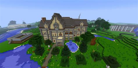 biggest minecraft house mansion house minecraft building inc