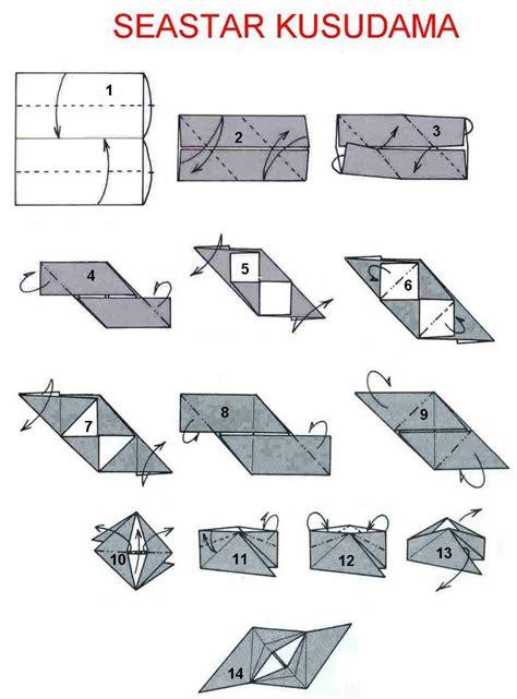 seastar kusudama by tomoko fuse origami