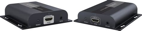 Extender Hdmi 120m Premium premiumcord hdmi extender na 120m přes lan ip