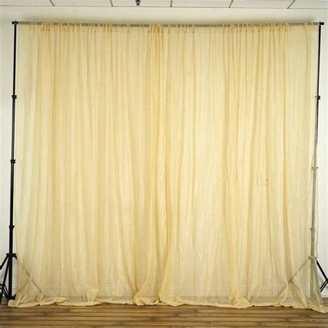 professional curtains 10ft x 10ft sheer voile professional backdrop window
