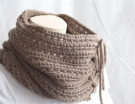 knitted cowl patterns knitting pattern cowl mokaccino cowl by gascon