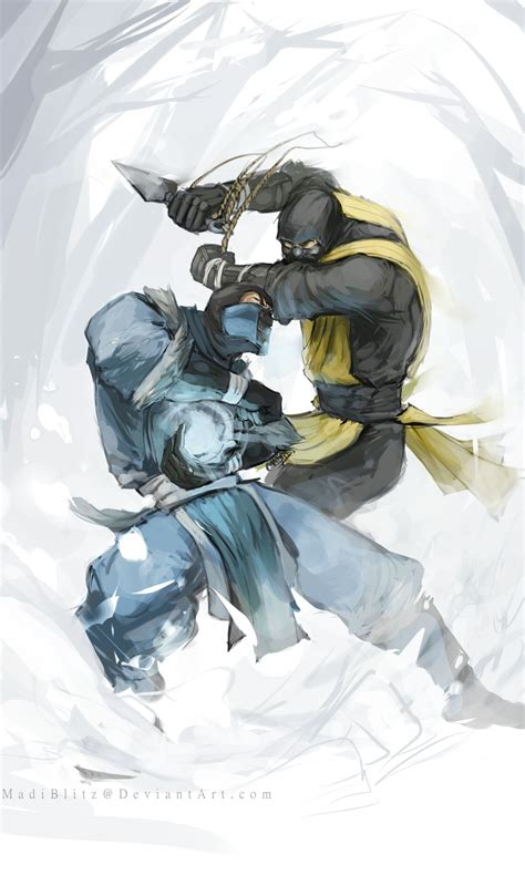 sub zero mortalkombat gamer on instagram a necessary step by madiblitz deviantart