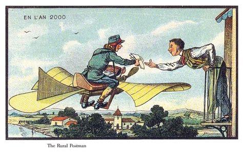 Kkpk Berlibur Ke Kutub Utara prediksi masa depan pada ilustrasi kartu pos abad ke 19