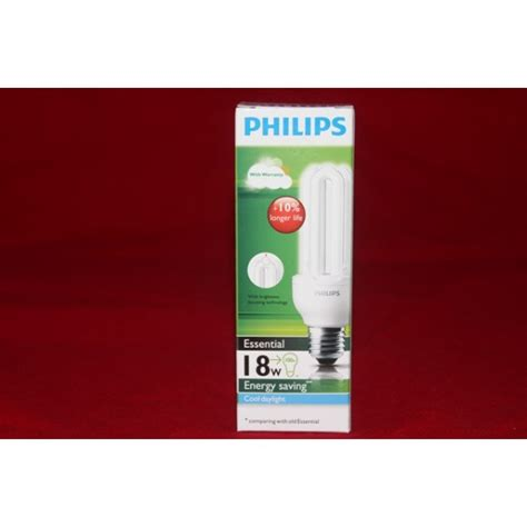 Lu Plc Philips Essential 5 Watt harga lu philips 18w essensial putih cool daylight